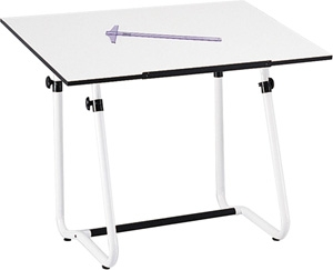 "Safco Vista Drawing Table, 42"" W x 30"" D (3960 and 3950) 3960 3950"