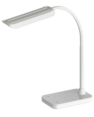 Safco Mini-Vamp LED Desk Light (1005WH) ES7038