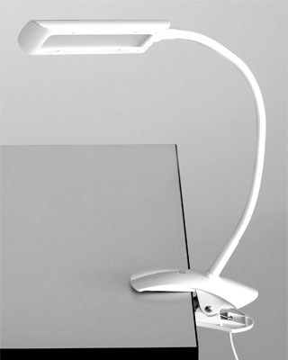 Safco Clamp-On LED Lamp (1004WH)