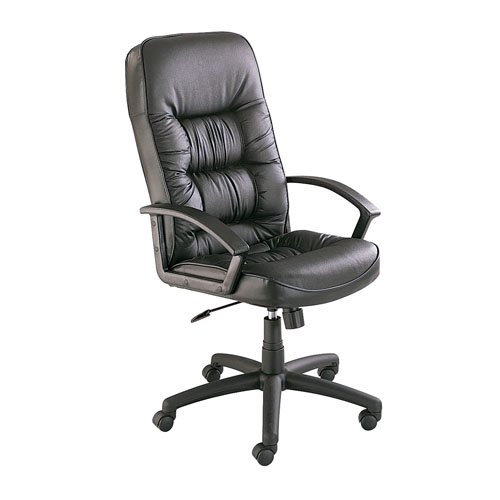 Safco Serenity High Back Executive Chair 3470BL (Black)