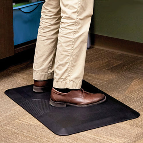 Safco 2110BL - Movable Anti-Fatigue Mat