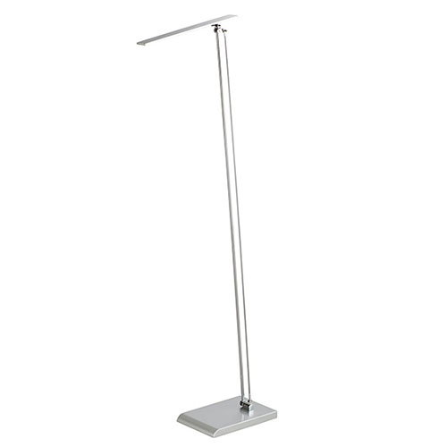 Safco 1006SL - Adjustable 80W LED Floor Lamp with Inline Foot Switch