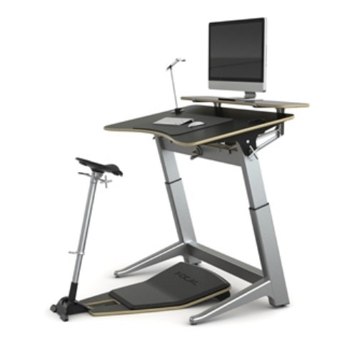 Safco Focal Locus 4 Standing Desk Pro Bundle (4 Colors Available)