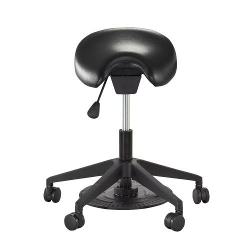 Safco Saddle Seat Lab Stool - 3438BL