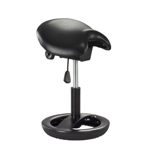 Safco Twixt Saddle Seat Stool - Sitting Height - 3005BV