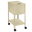 Safco Letter Size Standard Mobile Tub File with Lock - 5361PT ES9601