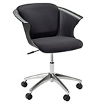 Safco COSY Social Chair with 5-Star Base - BU5BB ET10016
