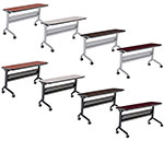 Safco Flip-N-Go 24 x 60 Rectangular Training Table (8 Colors Available) ET10020