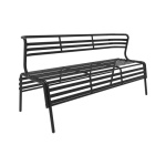 Safco CoGo Steel Outdoor/Indoor Bench - (4 Colors Available) ET11201
