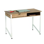 Safco Single Drawer Office Desk - (2 Colors Available) ET11323