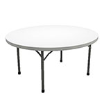 "Safco Event Series 60"" Round Folding Table, 29""H - 770060DGWT ET11784"