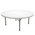 "Safco Event Series 72"" Round Folding Table, 29""H - 770072DGWT ET11785"