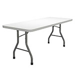 "Safco Event Series 30""x72"" Rectangular Folding Table, 29""H - 773072DGWT ET11787"