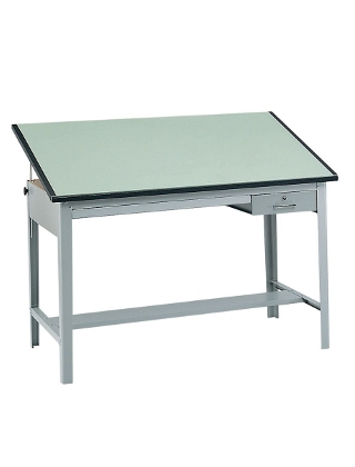 Safco Precision 70 Wide Drafting Table 3962gr And 3953 Es1117