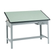 "Safco Precision 70"" Wide Drafting Table (3962GR and 3953) ES1117"