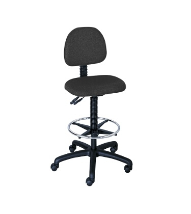 Safco Trenton Extended-Height Drafting Chair 3420BL