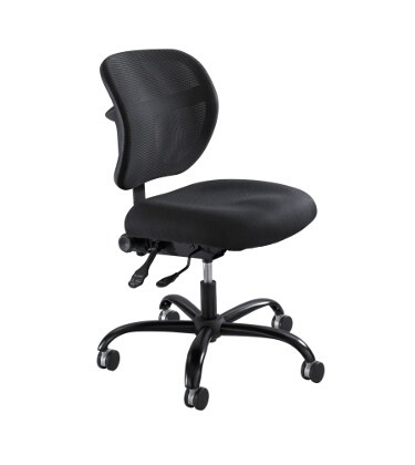 Safco Vue Big and Tall Mesh Task Chair 3397BL ES3131