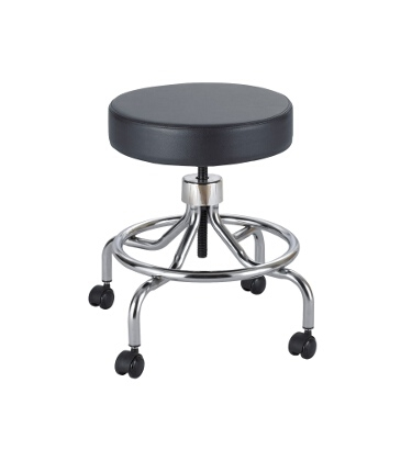Safco Lab Stool, Low Base with Screw Lift 3432BL ES3137