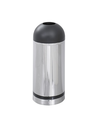 Safco Reflections Open Top Dome Receptacle 9871