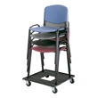 Safco Stacking Chair Cart 4188
