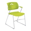 Safco Veer Flex Back Stack Chair (Qty. 4) 4286GS (Grass) ES3174