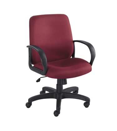 Safco Poise Executive Mid Back Seating 6301BG ES3208