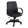 Safco Poise Executive Mid Back Seating 6301BL (Black) ES3209