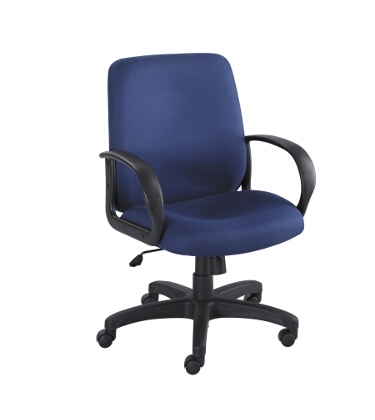 Safco Poise Executive Mid Back Seating 6301BU ES3210