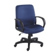 Safco Poise Executive Mid Back Seating 6301BU (Blue) ES3210