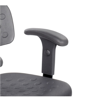 Safco Soft Tough Adjustable T-Pad Arms 6683 ES3229