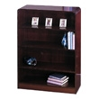 Safco 4-Shelf Radius-Edge Veneer Bookcase 1523MH ES3250