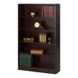 Safco 5-Shelf Radius-Edge Veneer Bookcase 1524MH ES3253