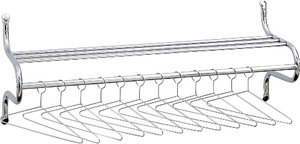 """Safco 48""""W Shelf Rack with Hangers 4164"" ES3294"