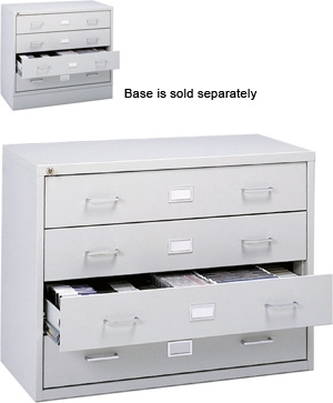 Safco Audio/Video Microform Cabinet 4935LG ES3329