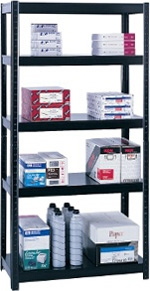 "Safco Boltless Steel Shelving, 36"" 5245BL"