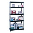 "Safco Boltless Steel Shelving, 36"" 5245BL (Black) ES3349"