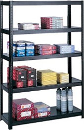 "Safco Boltless Steel Shelving, 48"" 5246BL"