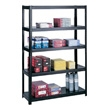 "Safco Boltless Steel Shelving, 48"" 5246BL (Black) ES3350"
