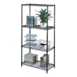 "Safco Industrial Wire Shelving, 36"" x 18"" 5285BL (Black) ES3356"