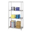 "Safco Industrial Wire Shelving, 36"" x 18"" 5285GR (Metallic Gray) ES3357"