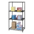 "Safco Industrial Wire Shelving, 36"" x 24"" 5288BL (Black) ES3362"