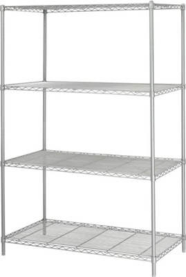 Safco Industrial Wire Shelving, 48 x 24 5294GR
