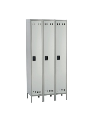 Safco Single Tier Locker 3 Column 5525GR ES3425
