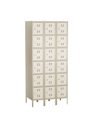 Safco Box Locker 3 Column 5527TN ES3430