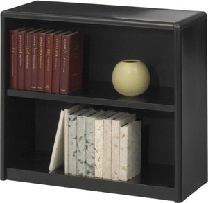 Safco 2-Shelf ValueMate Economy Bookcase 7170BL ES3450