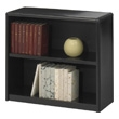 Safco 2-Shelf ValueMate Economy Bookcase 7170BL (Black) ES3450
