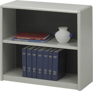 Safco 2-Shelf ValueMate Economy Bookcase 7170GR ES3451