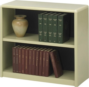 Safco 2-Shelf ValueMate Economy Bookcase 7170SA ES3453