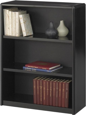 Safco 3-Shelf ValueMate Economy Bookcase 7171BL ES3454