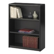 Safco 3-Shelf ValueMate Economy Bookcase 7171BL (Black) ES3454